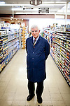 Darrell Corti poses for a portrait at Corti Bros. in Sacramento, Calif., March 3, 2012.