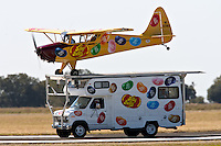 NEW BRAUNFELS, TX - OCTOBER 19, 2007: The 2007 Moonlight Fund Airshow held at the New Braunfels Municipal Airport. The Moonlight Fund is a charitable organization that raises money for burn survivors and their families. (Photo by Jeff Huehn)