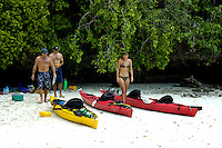 kayaking in the Rock Islands,Palau Micronesia