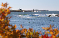 Autumn at Burnt Island Light