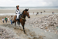 Glenbeigh horse races, Rossbeigh Strand, County Kerry, Ireland.<br /> Pictures by James Horan