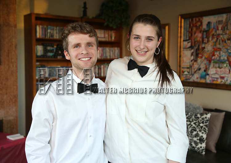 Sam Flynn and Leah Lane attends The Drama League: Meet The Directing Fellows <br />Hosted By Stewart F. Lane &amp; Bonnie Comley at a private residence on May 15, 2017 in New York City.