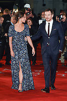 LONDON, UK. October 19, 2016: Alicia Vikander &amp; Michael Fassbender at the premiere of &quot;The Light Between Oceans&quot; at the Curzon Mayfair, London.<br /> Picture: Steve Vas/Featureflash/SilverHub 0208 004 5359/ 07711 972644 Editors@silverhubmedia.com