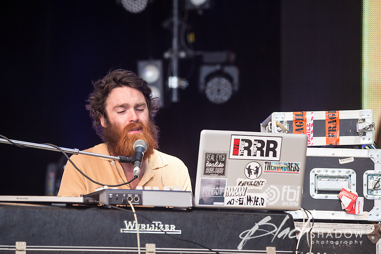 Chet Faker performing at Meredith Music Festival 2012 held at the Meredith Supernatural Ampitheatre, 7-9 December 2012