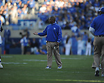 Ole Miss vs. Kentucky head coach Joker Phillips at Commonwealth Stadium in Lexington, Ky. on Saturday, November 5, 2011. ..