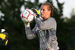 22 August 2008: Carolina's Ashlyn Harris. The University of North Carolina Tar Heels defeated the UNC Charlotte 49'ers 5-1 at Fetzer Field in Chapel Hill, North Carolina in an NCAA Division I Women's college soccer game.