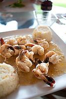 Restaurant Zazil_Ha. Isla Aguada, Campeche, Mexico