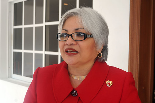 Mu Kien Adriana Sang Ben, presidenta de la Academia Dominicana de la Historia