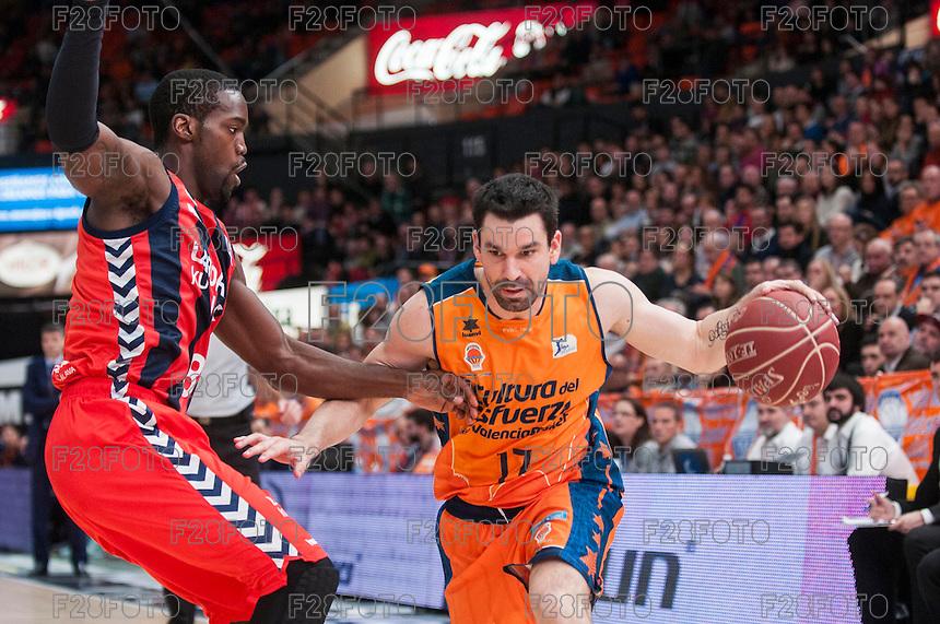 Valencia Basket 85-70 Caja Laboral (7-11-2014)