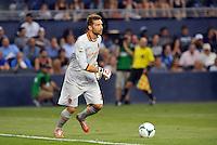 Sporting Park, Kansas City, Kansas, July 31 2013:<br /> Morgan De Sanctis (goalkeeper) AS Roma.<br /> MLS All-Stars were defeated 3-1 by AS Roma at Sporting Park, Kansas City, KS in the 2013 AT &amp; T All-Star game.