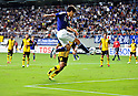 Kensuke Nagai (JPN), SEPTEMBER 21, 2011 - Football / Soccer : Kensuke Nagai of Japan assists his team's second goal during the 2012 London Olympics Asian Qualifiers Final Round Group C match between U-22 Japan 2-0 U-22 Malaysia at Tosu Stadium in Saga, Japan. (Photo by Jinten Sawada/AFLO)