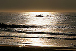 Fishing boats off the coast of  Asbury Park,  New Jersey. Photo By Bill Denver/EQUI-PHOTO