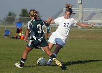 Girls JV Soccer vs Pendleton Heights 8-25-09