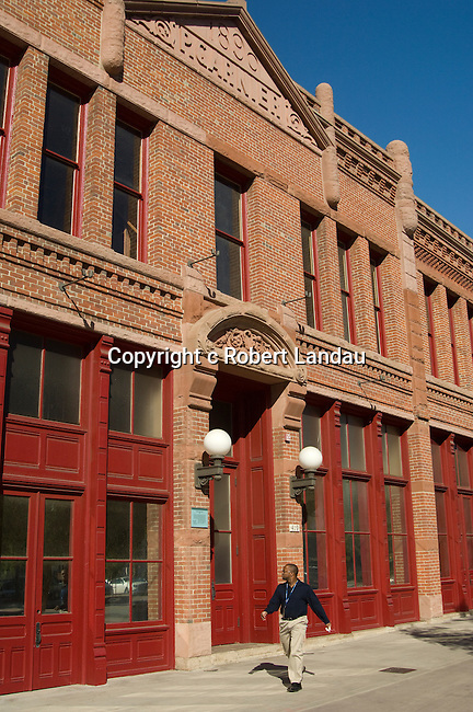 The Historic Garner Building from 1890 in downtown Los Angeles at Olvera St.