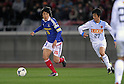Shunsuke Nakamura (F Marinos), MARCH 31, 2012 - Football / Soccer : 2012 J.LEAGUE Division 1 between Yokohama F Marinos 0-0 Kashima Antlers at NISSAN Stadium, Kanagawa, Japan. This game was celebrated as a 20th Anniversary Match involving two of the original teams that featured when the J.League launched. Traditionally one of the favourites, Kashima have not scored yet in their first 4 games of the season. (Photo by Atsushi Tomura /AFLO SPORT) [1035]
