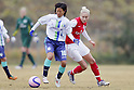 (L to R) Takako Sugiyama (Ciencia), Steph Houghton (Arsenal), DECEMBER 2, 2011 - Football / Soccer : Frendiy Football match Arsenal Ladies FC 4-0 Musashigaoka College Ciencia at Musashigaoka College Stadium in Saitama, Japan. (Photo by Yusuke Nakanishi/AFLO SPORT) [1090]
