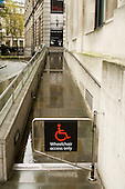 National Portrait Gallery, London.  Wheelchair entrance.