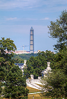 Washington Monument from Arlington Cemetery