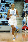 03 January 2013: North Carolina's Erika Johnson. The University of North Carolina Tar Heels played the University of Maryland Terrapins at Carmichael Arena in Chapel Hill, North Carolina in an NCAA Division I Women's Basketball game. UNC won the game 60-57.