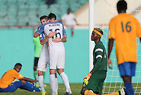 St. Vincent and the Grenadines - September 2, 2016: The U.S. Men's National team take a 5-0 lead over St. Vincent and the Grenadines with Sacha Kljestan contributing a goal in a World Cup Qualifier (WCQ) match at Arnos Vale Stadium.