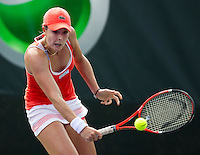 Alize CORNET (FRA) against Stefanie VOEGELE (SUI) in the first round. Cornet beat Voegele 6-3 0-6 6-2..International Tennis - 2010 ATP World Tour - Sony Ericsson Open - Crandon Park Tennis Center - Key Biscayne - Miami - Florida - USA - Wed 24 Mar 2010..© Frey - Amn Images, Level 1, Barry House, 20-22 Worple Road, London, SW19 4DH, UK .Tel - +44 20 8947 0100.Fax -+44 20 8947 0117