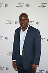 Boxing Champion Evander Holyfield Attends Tribeca Talks: After the Movie: Champs Held at SVA Theatre , NY