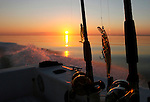 Headed home after a good day of fishing near  Shell Point in Wakulla County south of Tallahassee, Florida.     (Mark Wallheiser/TallahasseeStock.com)