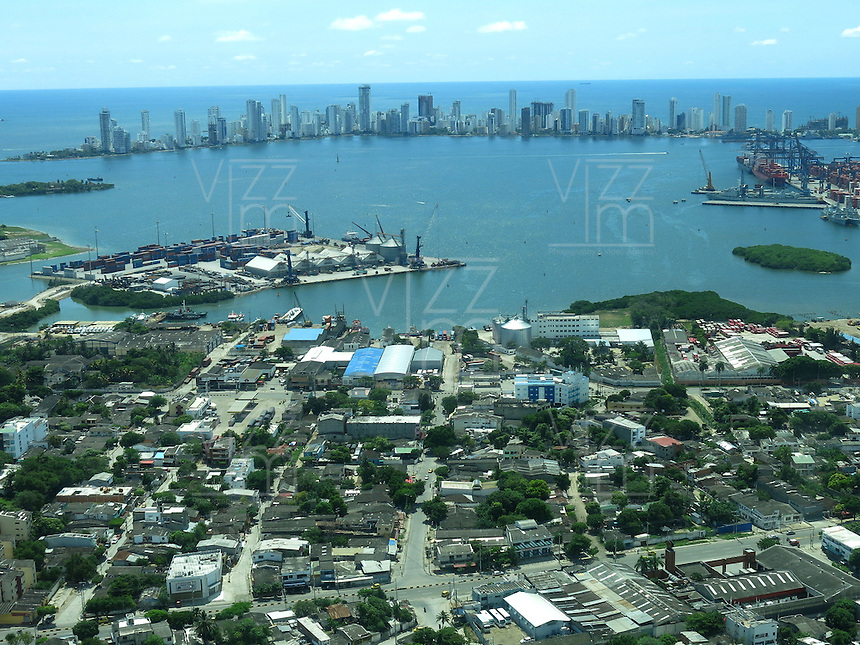 CARTAGENA- COLOMBIA. Panorámica de Cartagena de Indias. / Cartagena de Indias panorama. Photo: VizzorImage/ Staff