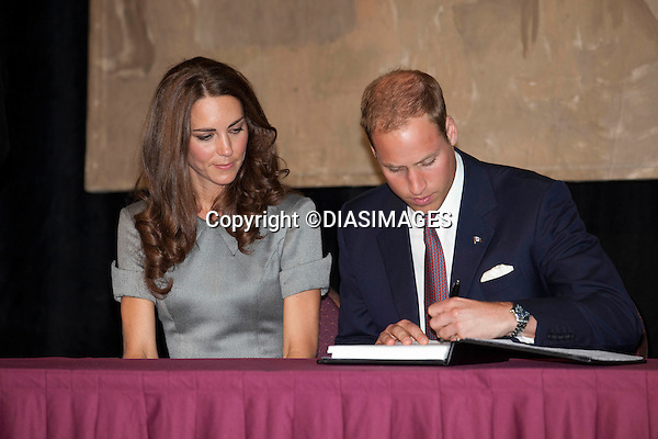 """WILLIAM & KATE VISIT THE CANADIAN WAR MUSEUM, OTTAWA._02/07/2011.Mandatory Credit Photo: ©DIASIMAGES..**ALL FEES PAYABLE TO: """"NEWSPIX INTERNATIONAL""""**..IMMEDIATE CONFIRMATION OF USAGE REQUIRED:.DiasImages, 31a Chinnery Hill, Bishop's Stortford, ENGLAND CM23 3PS.Tel:+441279 324672  ; Fax: +441279656877.Mobile:  07775681153.e-mail: info@newspixinternational.co.uk"""