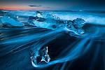 The Glacier Beach, Iceland