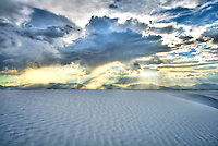 &quot;Spiritual Experience&quot; - White Sands, New Mexico - White Sands National Monument