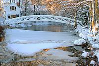 Somesville Footbridge Winter #L5