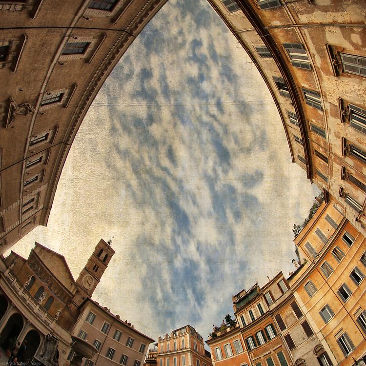 Rome, Piazza di Santa Maria in Trastevere