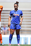 26 August 2012: Florida's Lauren Silver. The University of Florida Gators defeated the Duke University Blue Devils 3-2 in overtime at Fetzer Field in Chapel Hill, North Carolina in a 2012 NCAA Division I Women's Soccer game.