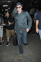 JUN 21 Brad Pitt seen at LAX