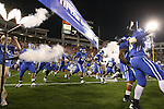 The University of Kentucky takes the field in the game against Auburn at Commonwealth Stadium on Saturday, Oct. 9, 2010. Photo by Scott Hannigan | Staff