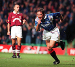 Ally McCoist scores for Rangers, league cup final 1996