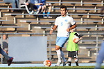 23 October 2015: North Carolina's Colton Storm. The University of North Carolina Tar Heels hosted the University of Louisville Cardinals at Fetzer Field in Chapel Hill, NC in a 2015 NCAA Division I Men's Soccer match. UNC won the game 2-1.