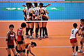 Korea Women's Volleyball Team Group (KOR), Japan Women's Volleyball Team Group (JPN),.MAY 23, 2012 - Volleyball : FIVB the Women's World Olympic Qualification Tournament for the London Olympics 2012, between Japan 1-3 Korea at Tokyo Metropolitan Gymnasium, Tokyo, Japan. (Photo by Jun Tsukida/AFLO SPORT) [0003].