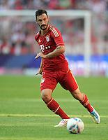FUSSBALL   1. BUNDESLIGA  SAISON 2011/2012   5. Spieltag FC Bayern Muenchen - SC Freiburg         10.09.2011 Diego Contento (FC Bayern Muenchen)