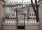 Cooper Hewitt, Smithsonian Design Museum, 90th Street garden entrance. Photo by Matt Flynn © 2014 Cooper Hewitt, Smithsonian Design Museum