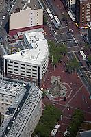 aerial photograph UN Plaza San Francisco, California