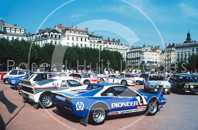 Andruet Jean Claude Ferrari 308 Gtb Tour De France 1982