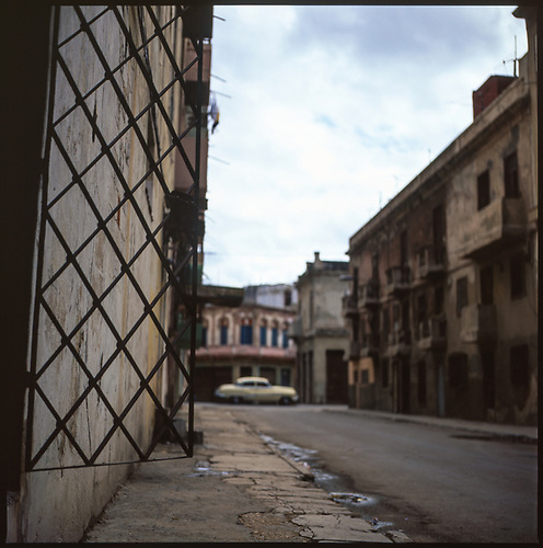 Deserted Street, Havana, Cuba by Paul Cooklin