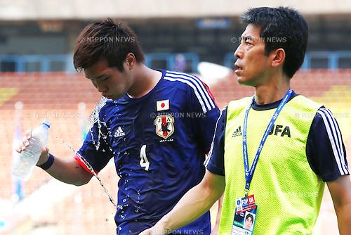 Takuya Iwanami (JPN), MARCH 27, 2015 - Football / Soccer : AFC U-23 Championship 2016 Qualification Group I match between U-22 Japan 7-0 U-22 Macau at Shah Alam Stadium in Shah Alam, Malaysia. (Photo by Sho Tamura/AFLO SPORT)