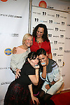 Stacy Igel, Dj Norma, Isabel Dawson, and Rosaro Dawson-Arrivals-Boy Meets Girl By Stacy Igel At New York Fashion Week Style360, NY   2/13/13