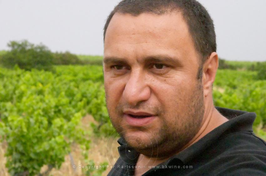 Pierre Quinonero Domaine de la Garance. Pezenas region. Languedoc. Owner winemaker. France. Europe.