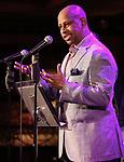 Ruben Santiago-Hudson attends 2017 New York Drama Critics' Circle Awards Reception at Feinstein's/54 Below on May 18, 2017 in New York City.