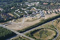 Deutschland..Schleswig- Holstein..Glinde..Wohnungsbau..K 80..Wasserruekhaltebecken