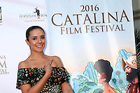 CATALAN ISLAND, CA - OCTOBER 1: Catalina Sandino Moreno at the Catalina Film Festival's Saturday at the Casino at Avalon in Catalina Island, California on October 1, 2016. Credit: David Edwards/MediaPunch